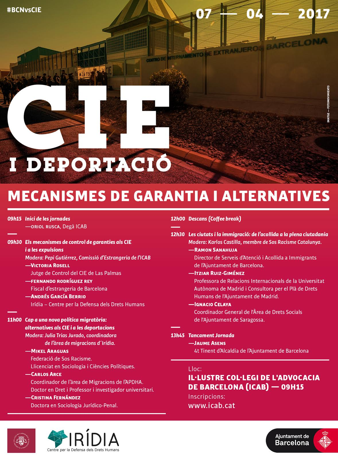 CIE i deportació: mecanismes de garantia i alternatives
